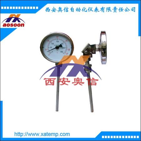 WSS-481 万向型双金属温度计 西安温度计